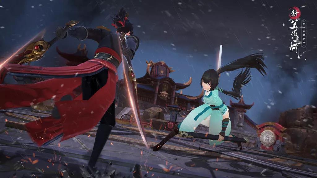 《新笑傲江湖》手游首发即登顶,完美世界游戏开拓MMO新变革之路
