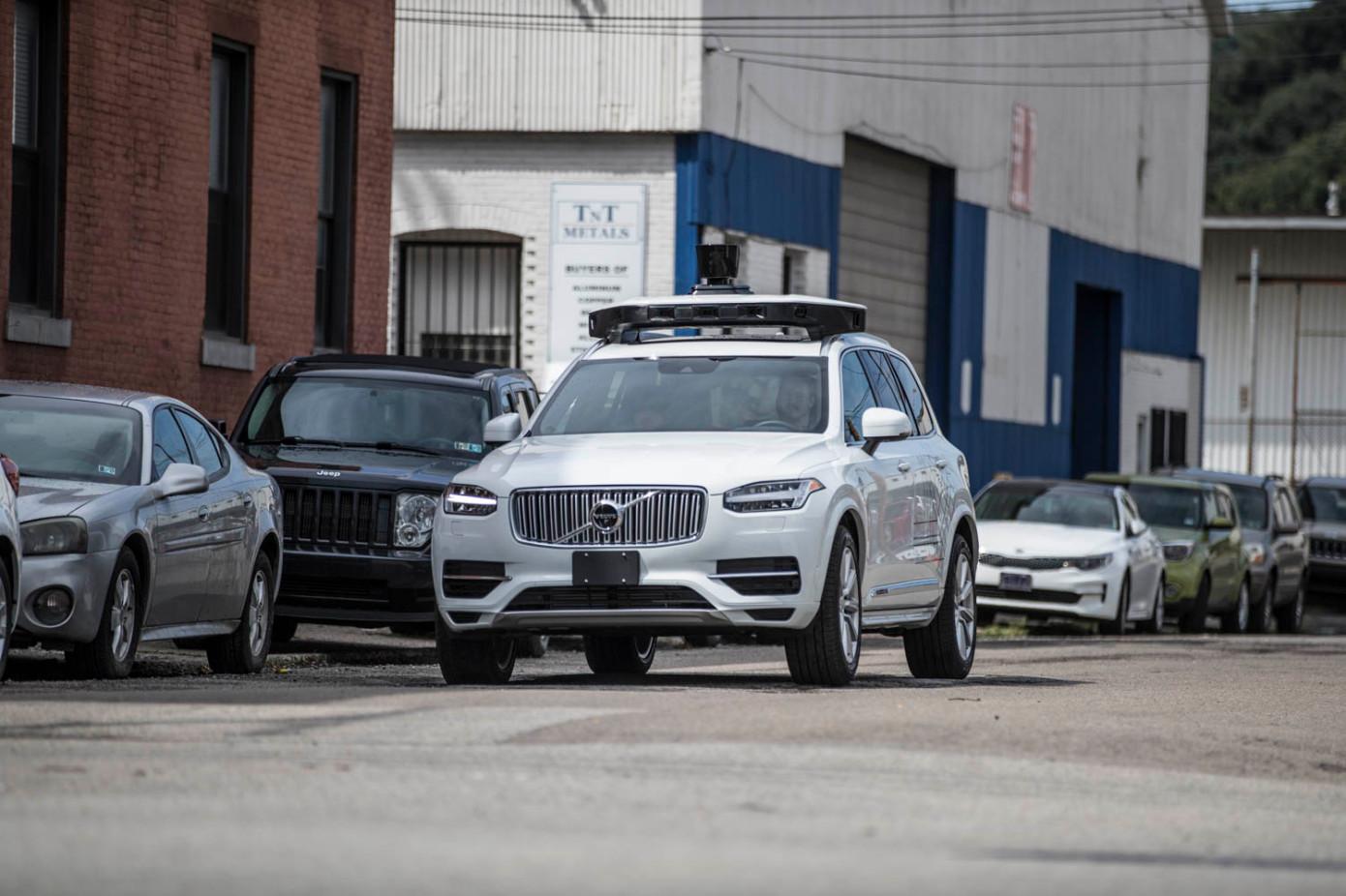 优步颁发了在加州公共道路上测试自动驾驶车辆的许可