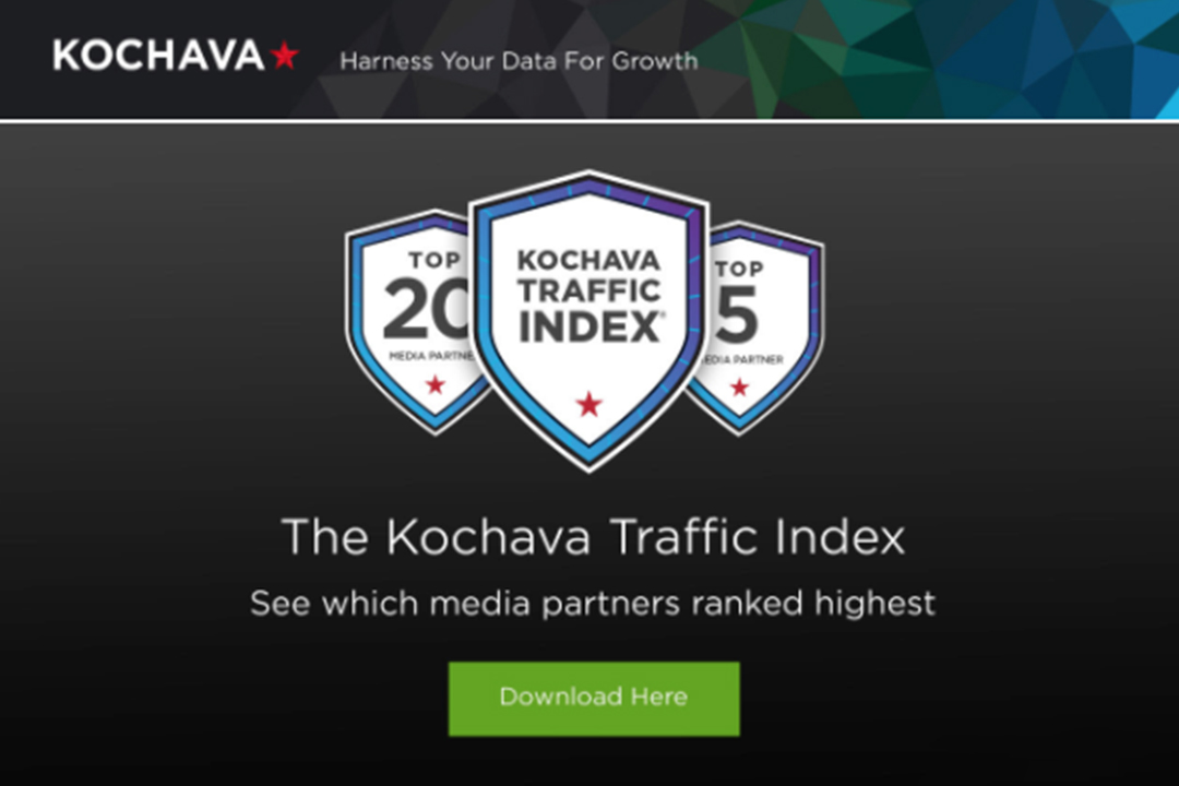 Kochava发布2020一季度全球最佳推广渠道