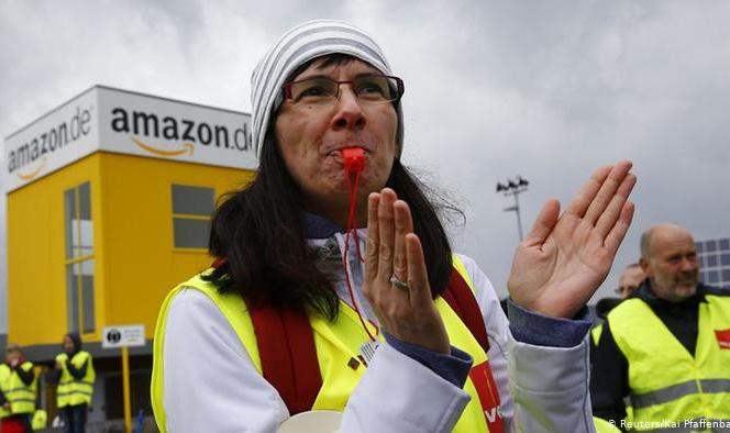 外媒:亚马逊否认德国仓库爆发疫情