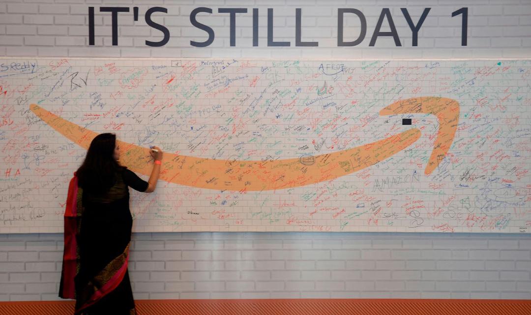 """亚马逊在印度推出""""智能商店""""以赢得用户青睐"""