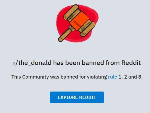 Twitch与Reddit两大平台齐动手:暂停特朗普账号与支持者社区