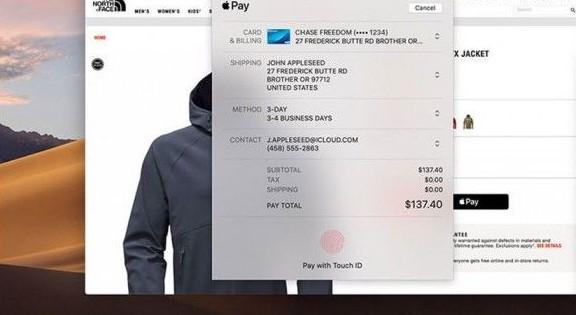 Mac Catalyst应用即将获得Apple Pay支持
