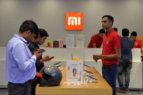 中国智能手机席卷印度市场