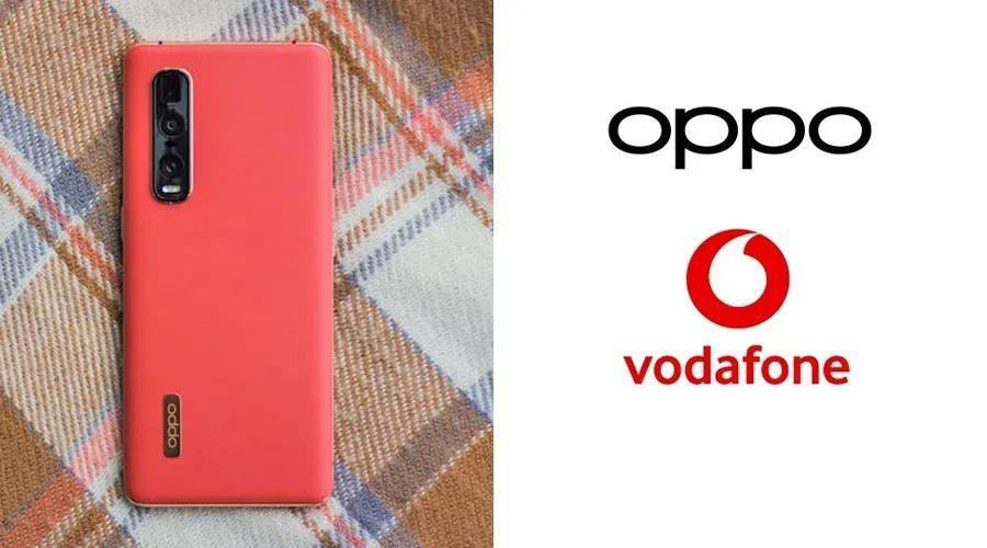 OPPO与英国运营商沃达丰合作,拓展欧洲5G手机市场