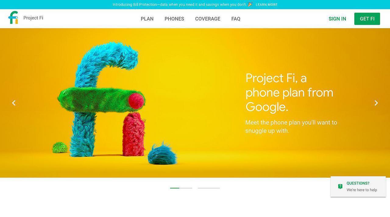 谷歌的ProjectFi在其单元服务中添加了永久在线VPN