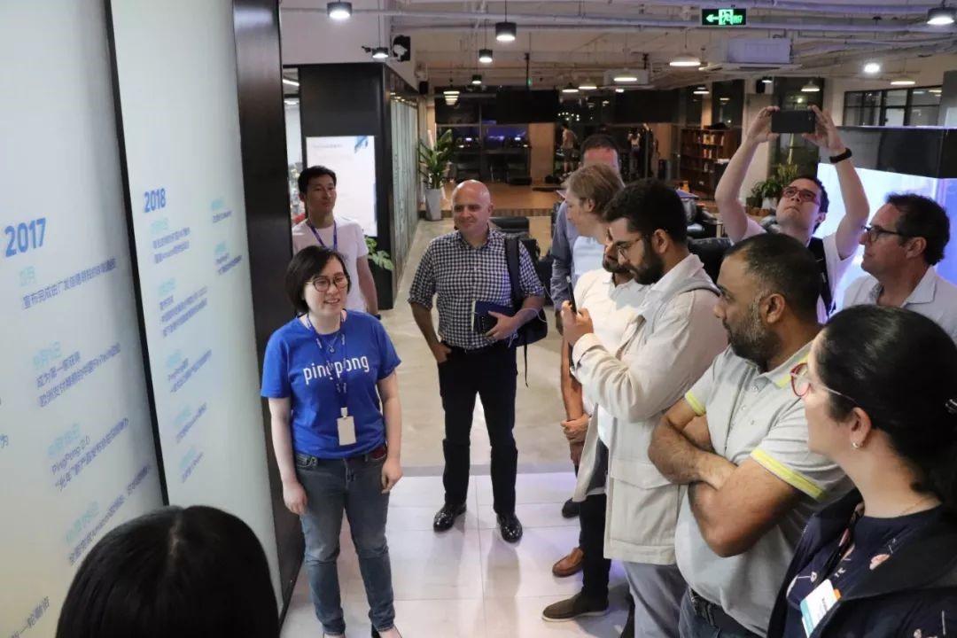 30家海外企业高管来访PingPong,来看看双方交流了些什么内容