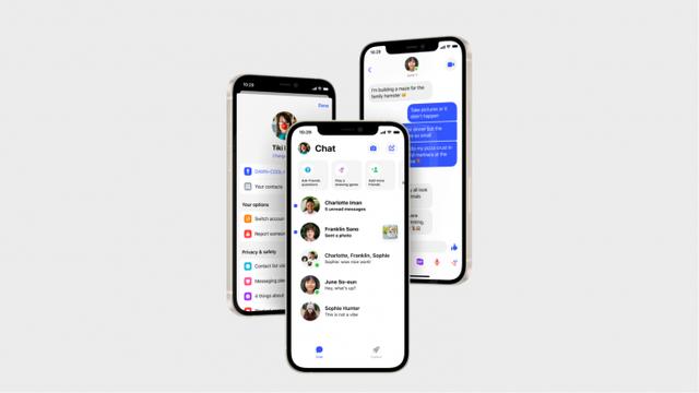 Facebook重新设计Messenger Kids应用 看起来更像Messenger