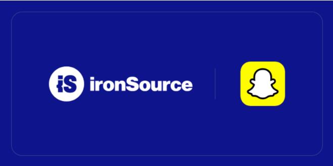 Snap Audience Network上线ironSource聚合平台