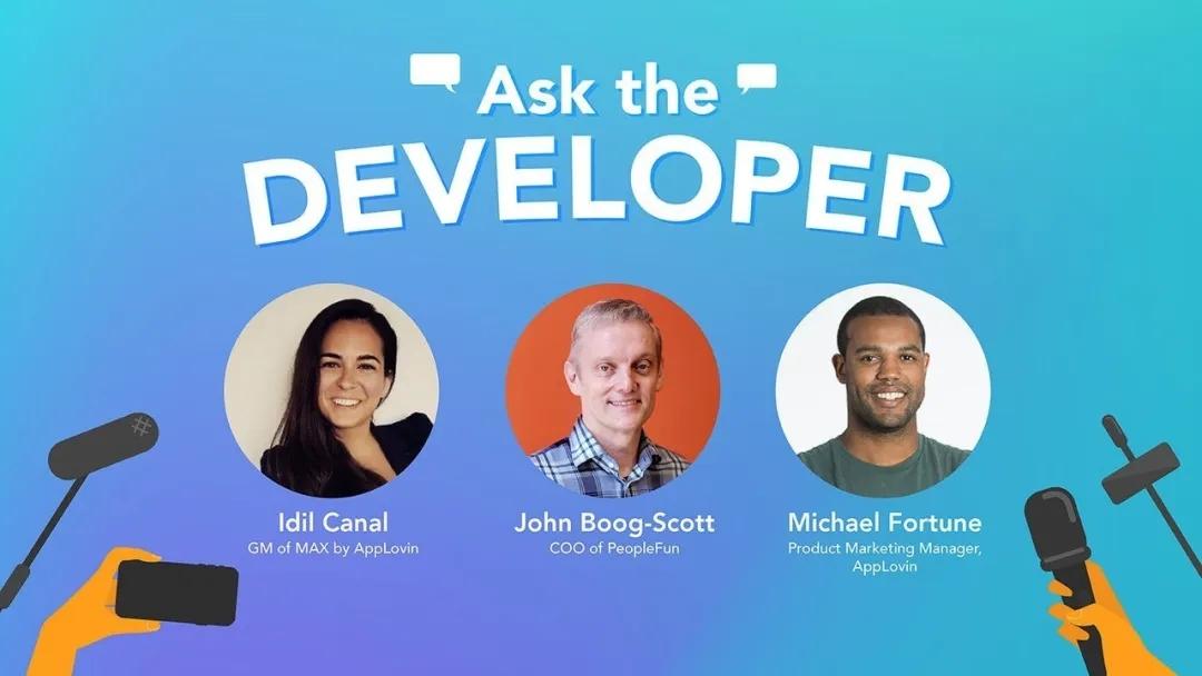 AppLovin Ask The Developer Live   对话全球最大文字游戏开发商PeopleFun