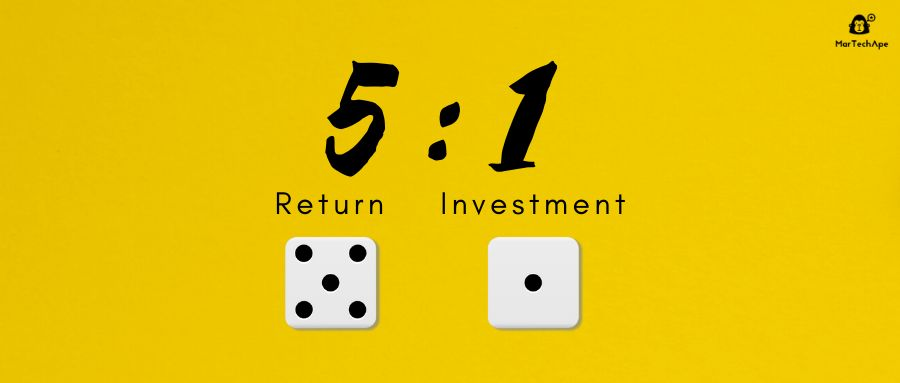 为什么营销回报率的黄金比例是5:1?
