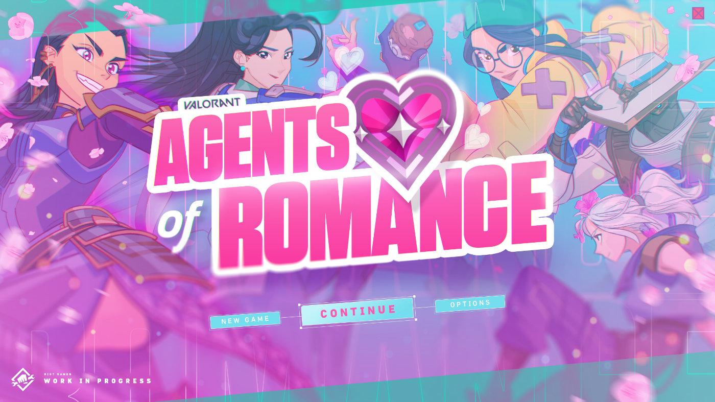 愚人节整活:拳头游戏宣布即将推出Valorant恋爱模拟游戏
