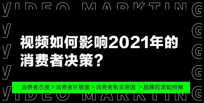 视频如何影响2021年的消费者决策?