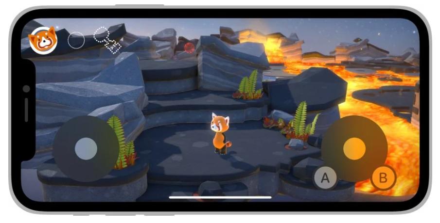 苹果 iOS/iPadOS 15 推出官方屏幕虚拟手柄,开发者可轻松添加至游戏