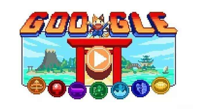 Google×日本动画公司制网页游戏 可爱像素风体验奥运项目