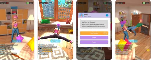 模拟经营网赚新游入榜,超能力题材动作游戏表现强势|休闲游戏周榜