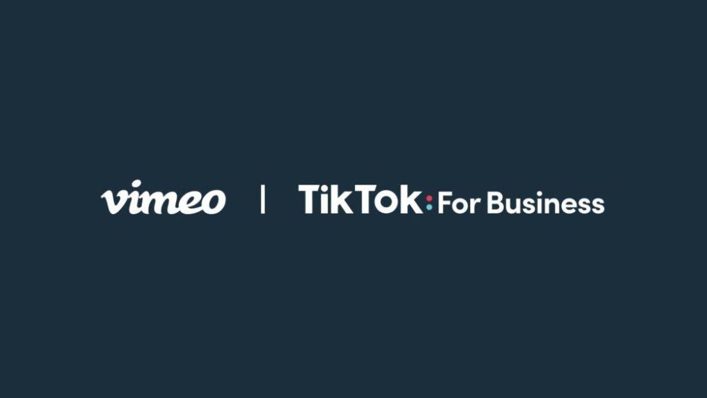 """TikTok""和""Vimeo""展开合作,上线视频广告创作工具"