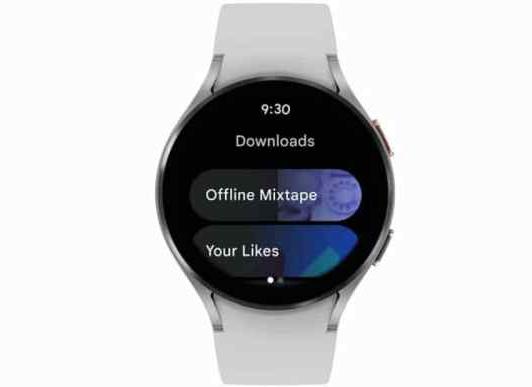YouTube Music Wear OS版 率先向Galaxy Watch4开放