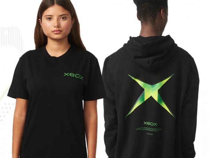 微软发布新的Xbox 20周年和Xbox Sphere服装系列