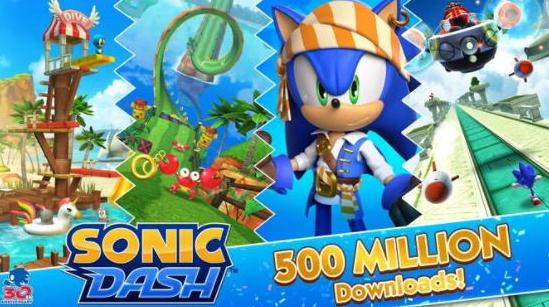 《索尼克冲刺》全球下载次数已超5亿次 游戏特殊活动开启
