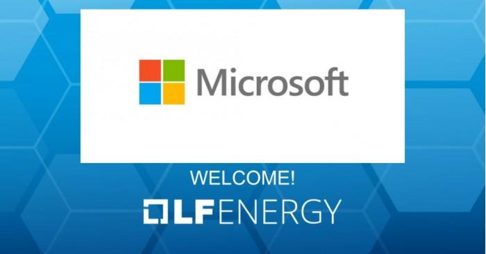 微软宣布成为LF Energy基金会战略会员