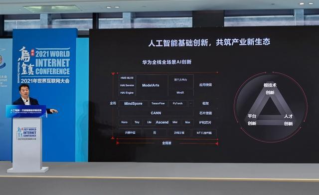 华为云在2021世界互联网大会提出人工智能创新三要素 共筑产业新生态