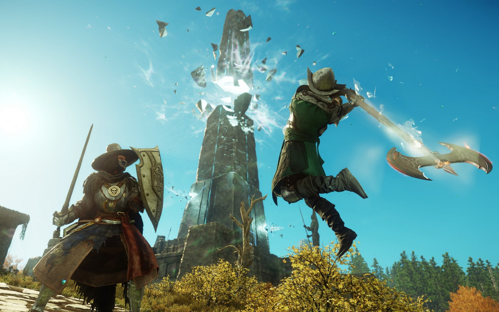 亚马逊 MMO《 新世界》首发当天突破 70 万玩家