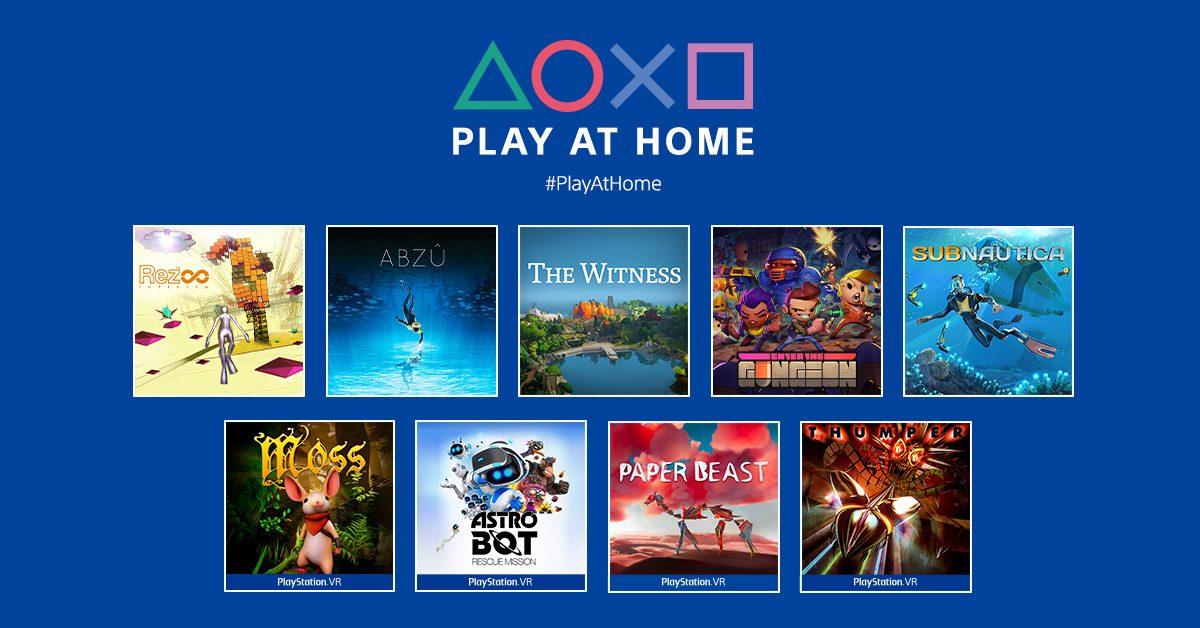 索尼Play At Home项目游戏下载量达到六千万 未来可能回归